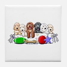 McDoodles Nursery Tile Coaster