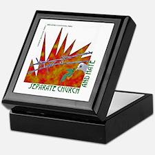 Separation of Church and Hate Keepsake Box