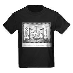 Scottish Freemasonry Kids Dark T-Shirt