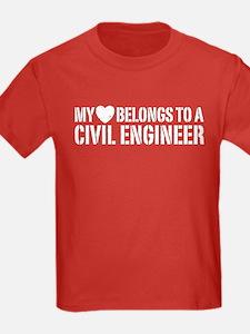My Heart Belongs to a Civil Engineer T