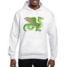 Green Dragon Tattoo Art (Front) Hoodie
