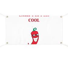 Chili Pepper Cool Banner