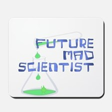 Future Mad Scientist 2 Mousepad
