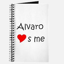 Cute Alvaro Journal