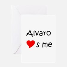 Funny Alvaro Greeting Card