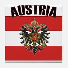 Cute Austria Tile Coaster