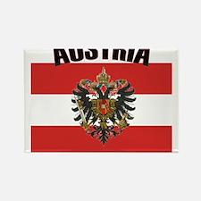 Cute Austria Rectangle Magnet