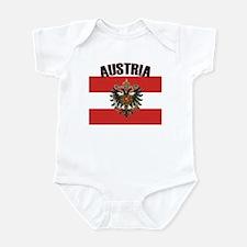 Cute Austria austrian american austrian american Infant Bodysuit