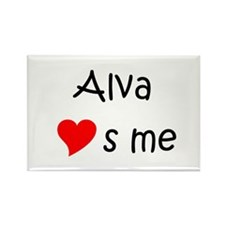 Alva Rectangle Magnet
