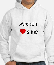 Funny Althea Hoodie