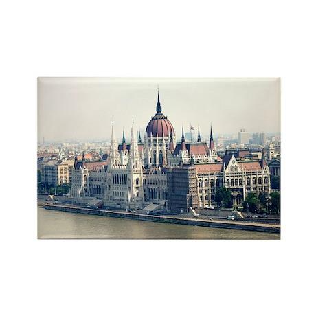 Budapest Parliament Rectangle Magnet