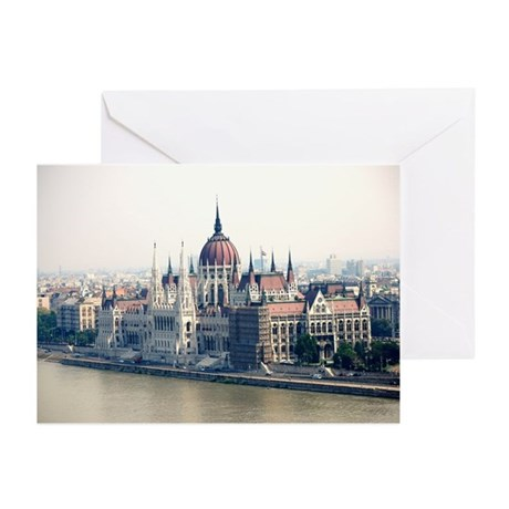 Budapest Parliament Greeting Cards (Pk of 10)