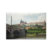 Prague Castle Rectangle Magnet