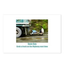 Cute Gas Postcards (Package of 8)