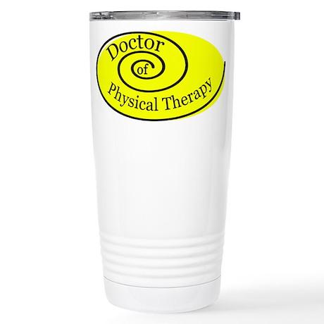 DPT Stainless Steel Travel Mug (yellow)