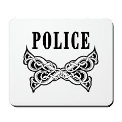 Police Tattoo Mousepad
