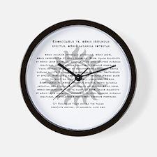 Cute Sam dean Wall Clock