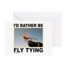 FLY TYING Greeting Card