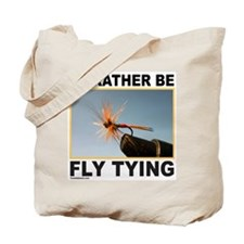 FLY TYING Tote Bag