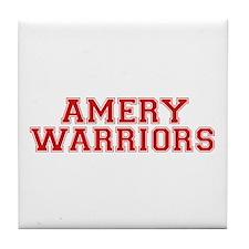 Amery Warriors Tile Coaster