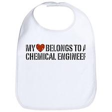 My Heart Belongs to a Chemical Engineer Bib