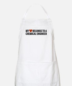My Heart Belongs to a Chemical Engineer BBQ Apron