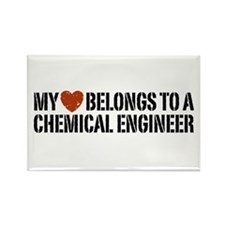 My Heart Belongs to a Chemical Engineer Rectangle