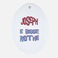 Joseph - The Biggest Brother Oval Ornament