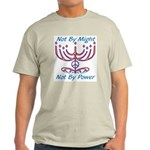 Not By Might Light T-Shirt