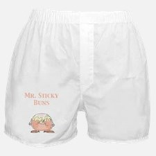 Mr. Sticky Buns Boxer Shorts