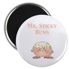 "Mr. Sticky Buns 2.25"" Magnet (100 pack)"