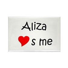Aliza Rectangle Magnet