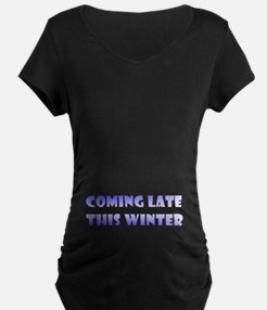 """""""Coming late this Winter"""" Maternity Drk"""