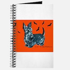 Spooky Scottie Halloween Journal