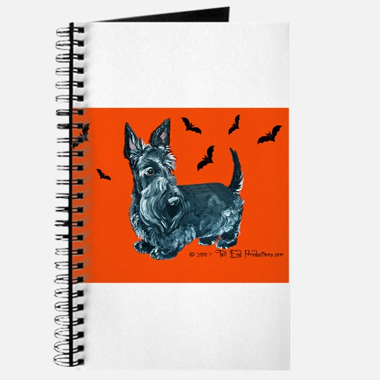 Spooky Scottie Halloween Journal