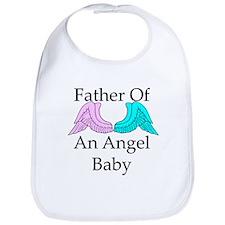 Father of an Angel Baby Bib