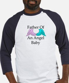 Father of an Angel Baby Baseball Jersey