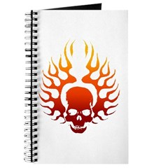 Flaming Skull Tattoo Journal