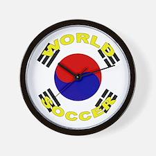 South Korea World Cup Wall Clock