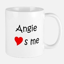 Cute Angie loves me Mug