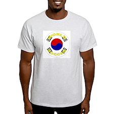 South Korea World Cup Ash Grey T-Shirt