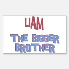 Liam - The Bigger Brother Rectangle Decal