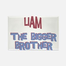 Liam - The Bigger Brother Rectangle Magnet