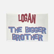 Logan - The Bigger Brother Rectangle Magnet
