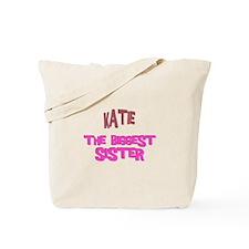 Katie - The Biggest Sister Tote Bag