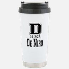 D is for De Niro Travel Mug