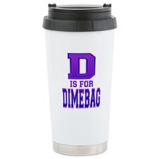 D is for Dimebag Travel Mug