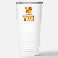 W is for Winnie Travel Mug
