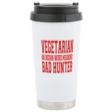 Vegetarian Travel Mug