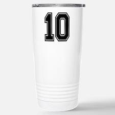 10 Stainless Steel Travel Mug